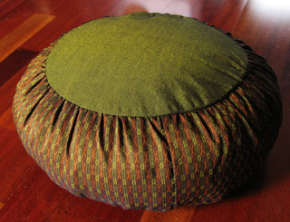 Boon Decor Meditation Cushion Buckwheat Zafu Pillow Global Weave SEE COLORS and PATTERNS