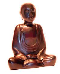 Boon Decor Meditating Monk Figurine - 4.5 Resin