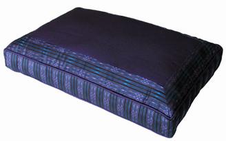 Boon Decor Meditation Low Rise Sitting Cushion - Purple Global Weave