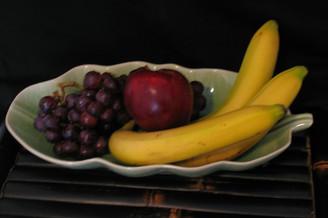 Boon Decor Celadon Banana Leaf Serving Dish 12