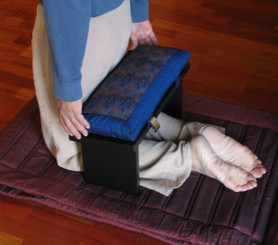 Boon Decor How To Use the Seiza Meditation Bench - STEP ONE