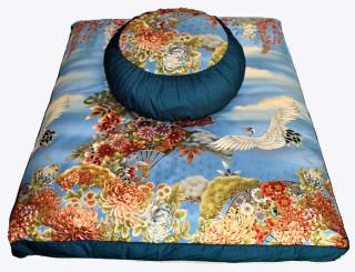 Boon Decor Meditation Cushion Zafu Zabuton Set - Imperial Dawn Collection