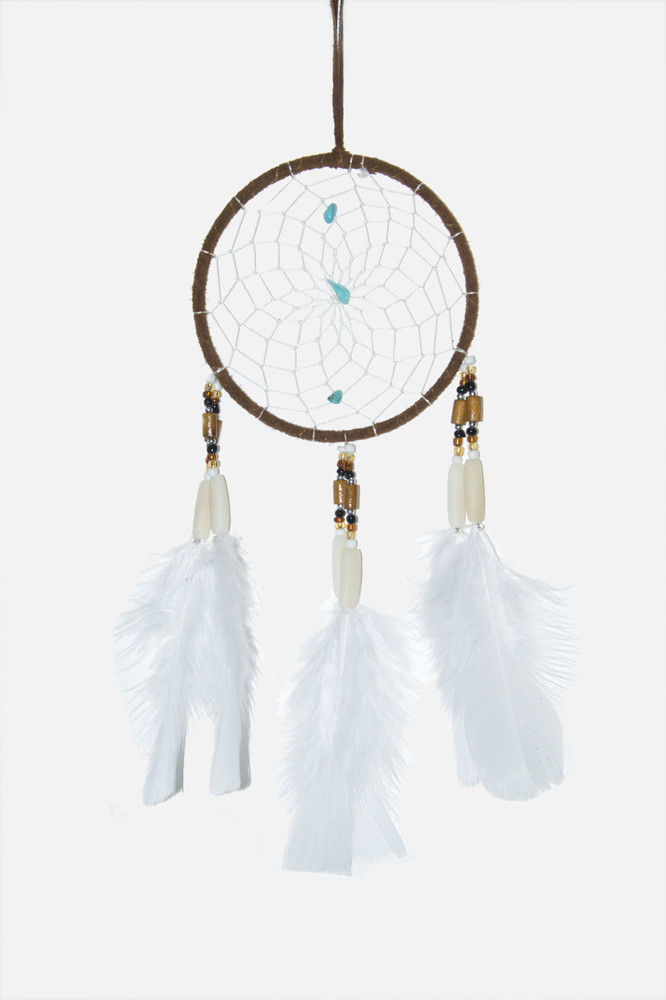 "Dreamcatcher #4"" Brown"