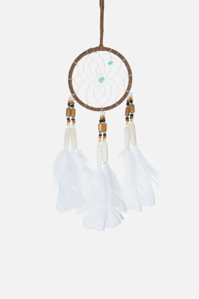 "Dreamcatcher #3"" Brown"