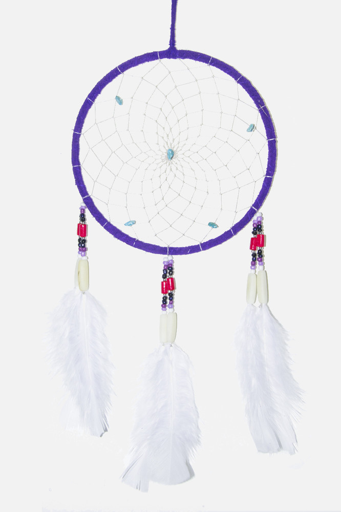"Dreamcatcher #6"" Purple"