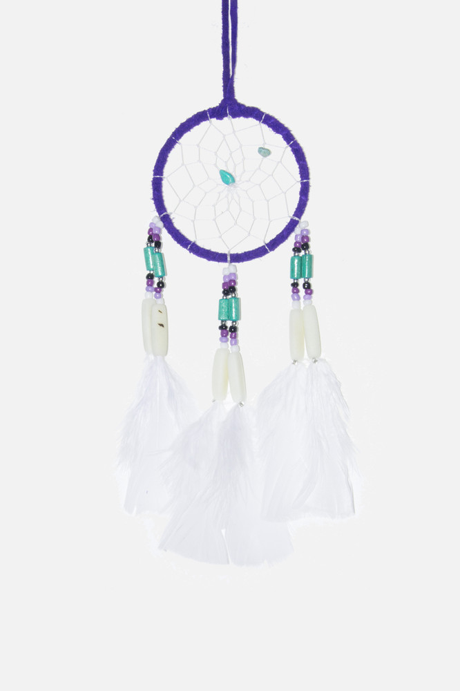 "Dreamcatcher #3"" Purple"