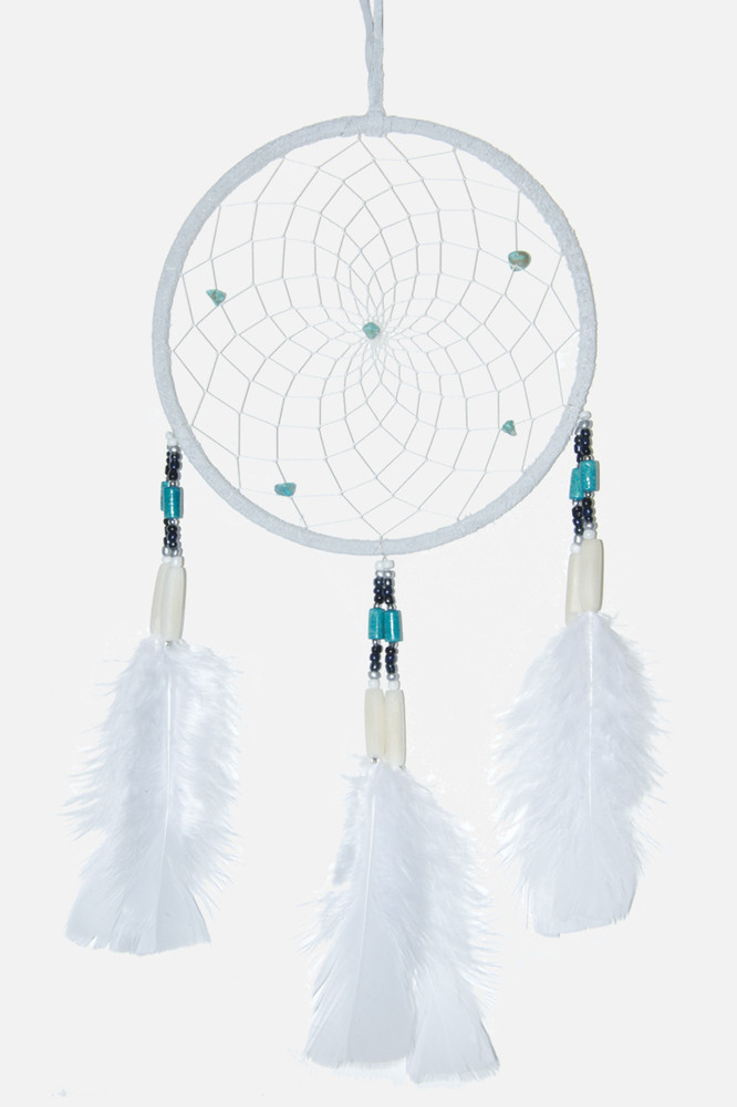 "Dreamcatcher #6"" Off White"