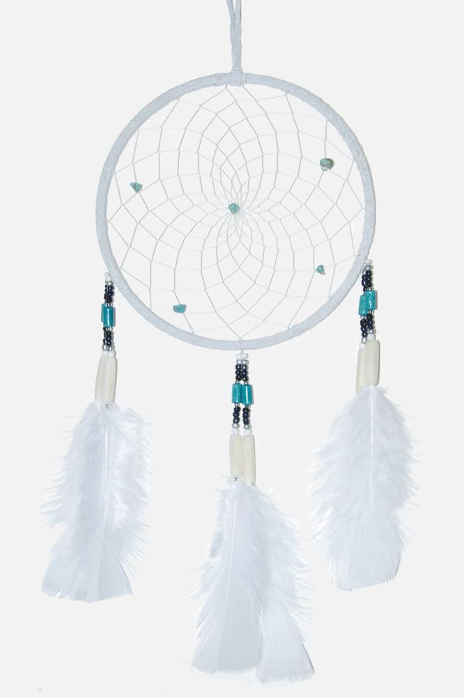 "Dreamcatcher #6"" Off White"