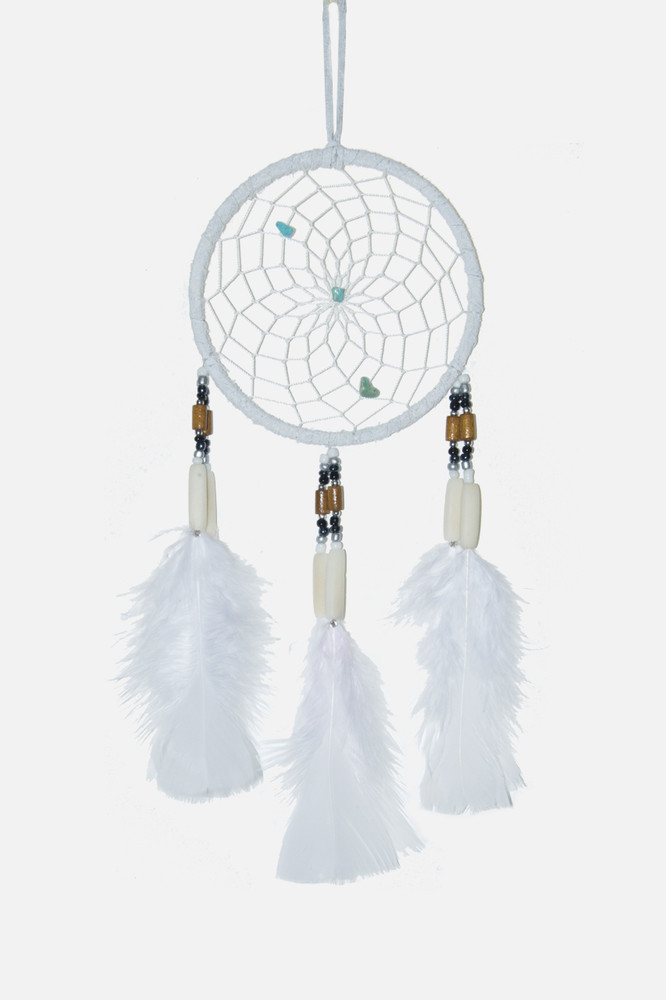 "Dreamcatcher #4"" Off White"