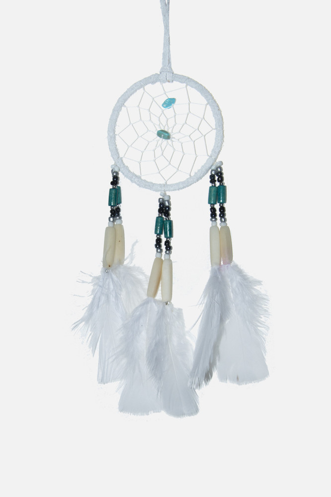 "Dreamcatcher #3"" Off White"