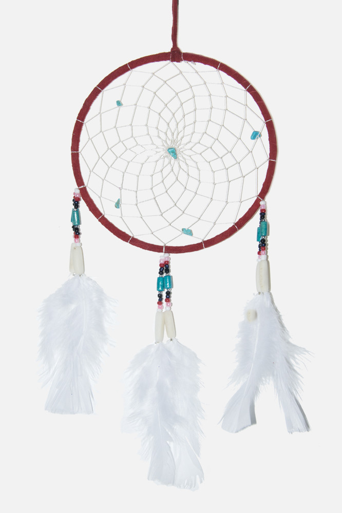 "Dreamcatcher #6"" Red"