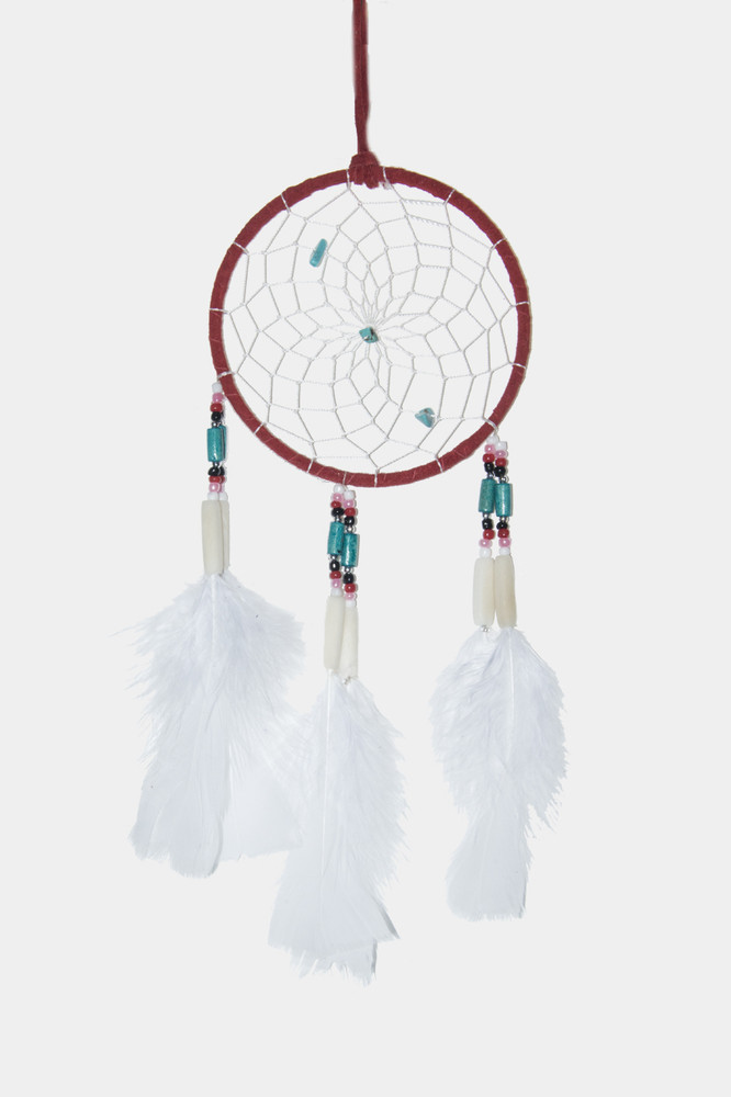 "Dreamcatcher #4"" Red"