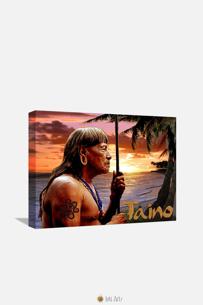 "Taino, Canvas 20""x24"""