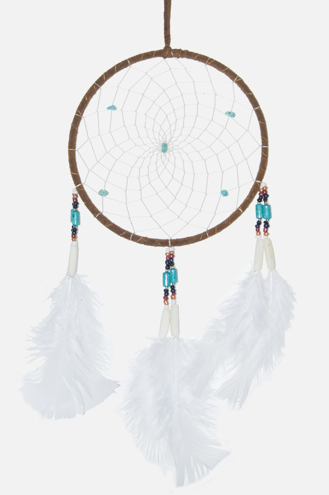 "Dreamcatcher #6"" Brown"