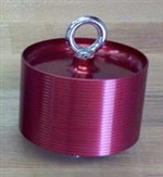 Minimum Diameter Motor Retainer, 75mm, with 1/4 SS Machine Eye-Bolt