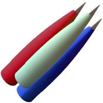 "Fiberglass 4"" Filament Wound (Select Shape)"