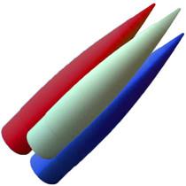 "Fiberglass 2.6"" Filament Wound Thin-Wall Composite Tip (Select Shape)"