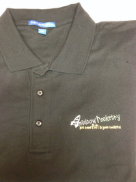 Polo Shirt with Madcow Rocketry Logo