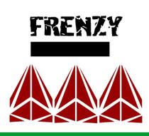 """Cut Vinyl 4"""" Frenzy Decal"""