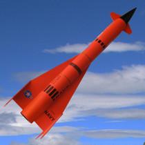 """1.6"""" Mini Jay Hawk AQM-37A"""
