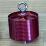 Minimum Diameter Motor Retainer, 38mm, with 3/16 Welded SS Eye-Bolt