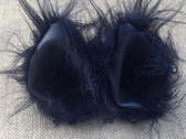 Long fur black ears with stiff black inners
