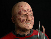 Eddie Nightmare Prosthetic half face mask - unpainted
