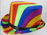 61CM Rainbow Top Hat
