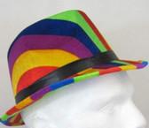59cm Rainbow Trilby Hat