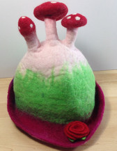Felted Toadstool Hat