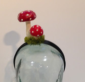 Fly Agaric - Amanita muscaria - toadstool headband