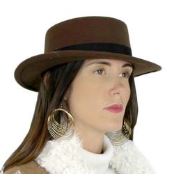 Oversize Gold Multi Hoop Drop Earrings