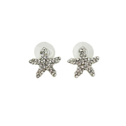 Dazzling Crystal Starfish Stud Earrings