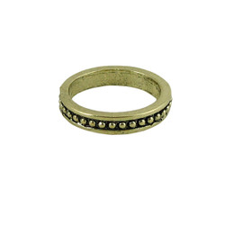 Finger Tip Ring Antique Gold Size 3