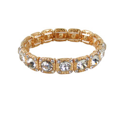 Majestic Jewels Crystal Bracelet Gold