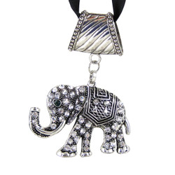 Elephant Pendant Jewelry for Scarves