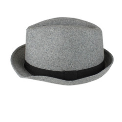 Fedora Hat Light Grey