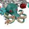 Octopus Charm Bracelet Stretch