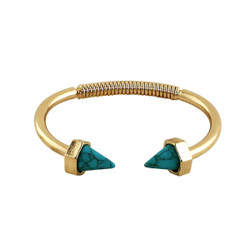 Know Your Direction Spring Bracelet Turquoise