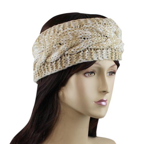 Braided Woven Headband Natural