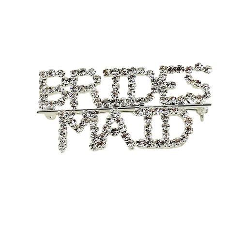 Bridesmaid Crystal Brooch