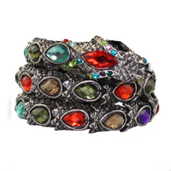 Snake Bangle Bracelet Multicolor