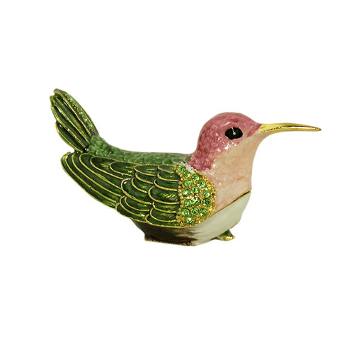 Anna's Hummingbird Trinket Box
