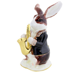 Cristiani Jazzy Rabbit Trinket Box