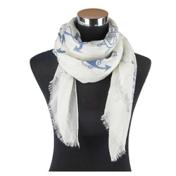 Nautical Viscose Scarf