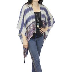 Western Kimono with Tassels