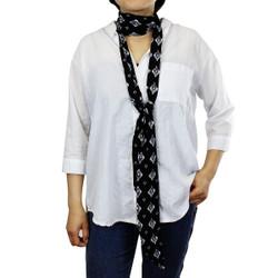 Skinny Scarf Tie Black