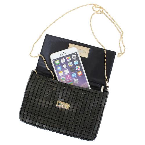Mega Turnlock Charity Mini Bag Clutch