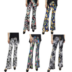 5Pcs lot of Bell Bottomsl Flare Pants Fits Small to Large