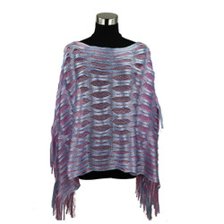 Sparkling Fishnet Poncho Serenity and Rose